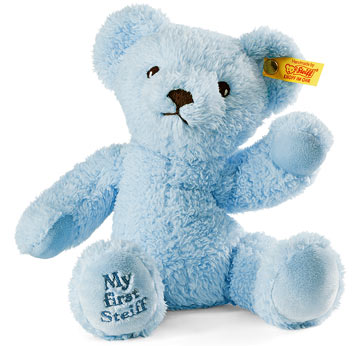 My First Steiff Teddy, Blue EAN 664724