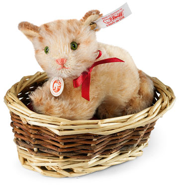 Ginny Kitten In Basket EAN 034374