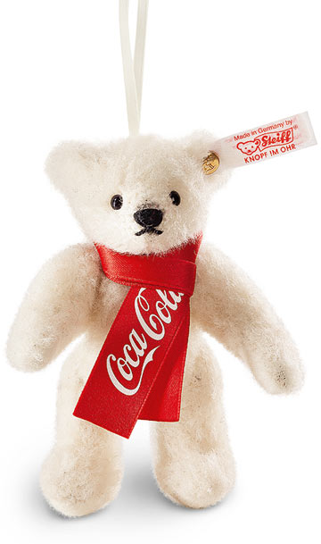 Coca-Cola Polar Bear Ornament EAN 355318
