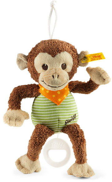 Jocco Monkey With Music Box EAN 240188