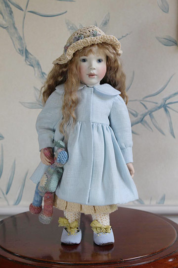 Robyn in Linen 2014 Club Doll