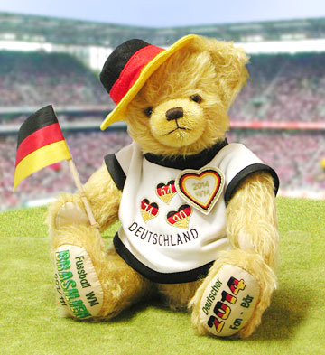 German Fan Bear 2014 12503-5