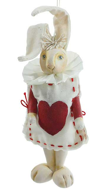 Queens Court Rabbit Ornament