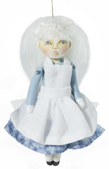 Alice Blue Ornament
