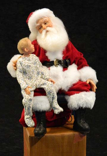 Personalized Santa And Child