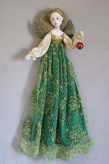 Christmas Angel, Green