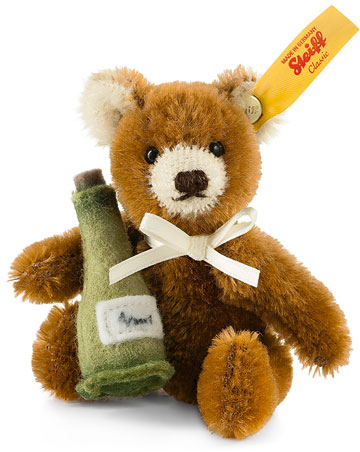 Mini Teddy With Champagne EAN 028908 by Steiff