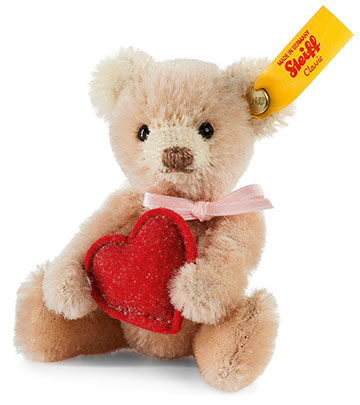 Mini Teddy With Heart EAN 028915