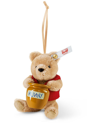 Winnie The Pooh With Honey Pot Ornament EAN 682933