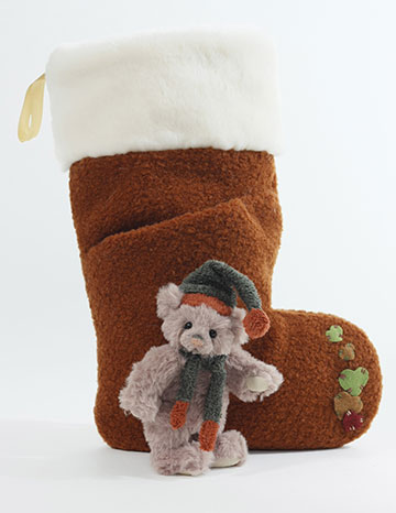 SOCKS Reindeer Brown
