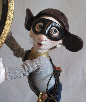 The Time Bandits by Lucia Friedericy, Friedericy Dolls