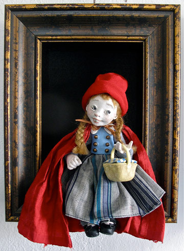 Red Riding Hood Shadowbox