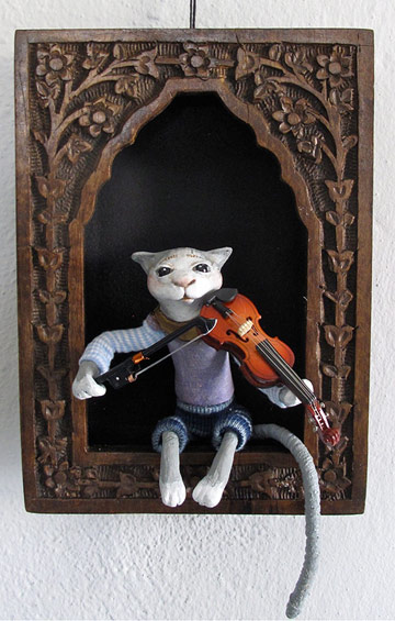 Cat And The Fiddle Shadowbox