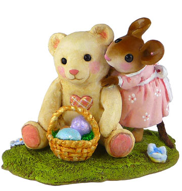 Teddy's Easter Hug M-522