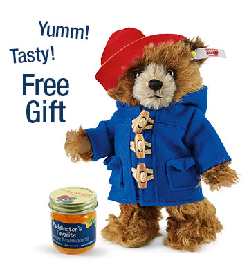 Paddington Bear 2015 w/Free Marmalade EAN 664892