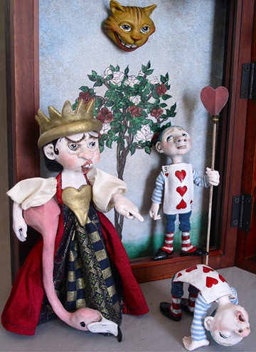 The World of Alice in Wonderland by Lucia Friedericy, Friedericy Dolls