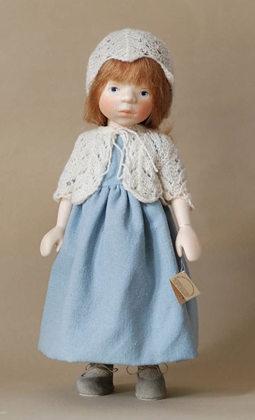 Girl in Pale Blue H341