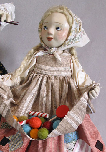 Hansel, Gretel and the Candy Witch by Lucia Friedericy, Friedericy Dolls