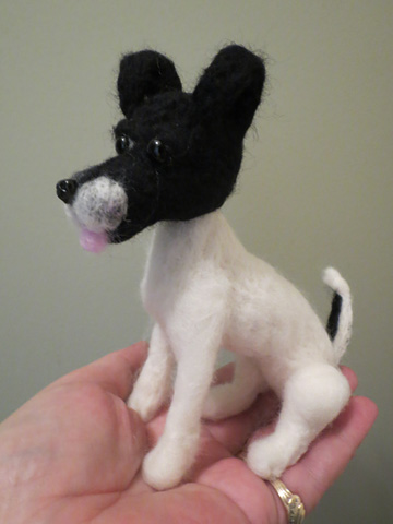 Smooth Fox Terrier Black and White