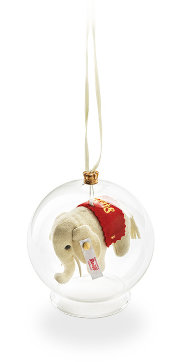Felt Elephant Ornament EAN 021374