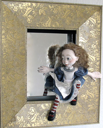 Alice Through The Looking Glass Mirror