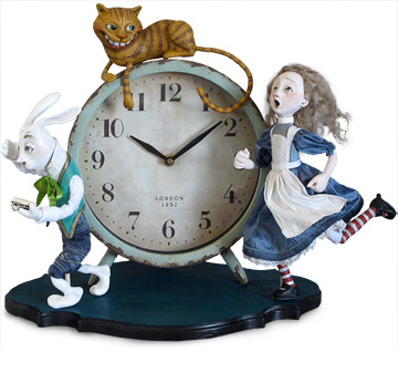 Alice Clock (I'm Late)