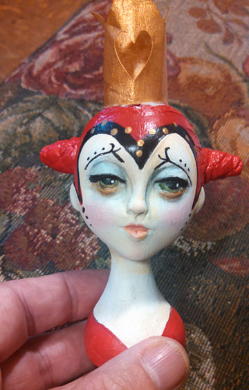 Red Queen Portrait Ornament