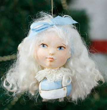 Alice Portrait Ornament