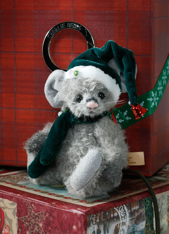 Sneeze Mouse Keyring Ornament