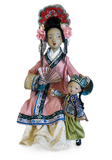 Asian Mother With Child