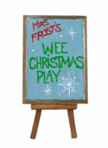 Wee Christmas Play Easel A-32