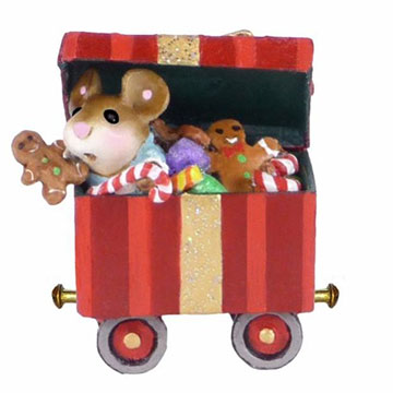 Christmas Candy Box Car M-453g