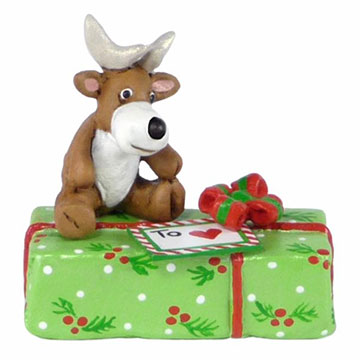 Gift With Reindeer A-35