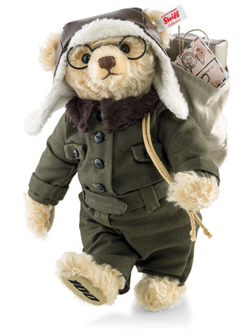 Mohair William E. Bear, Boeing 100th Anniversary EAN 683008