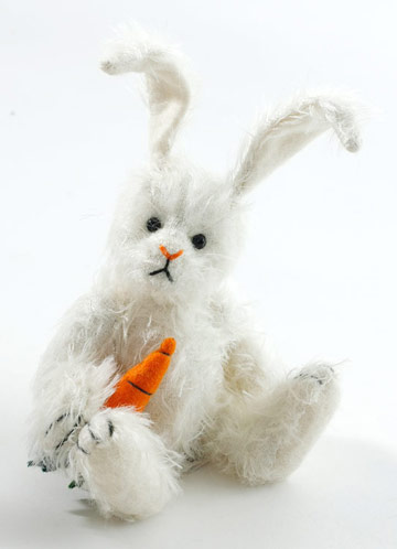 14 Karat, Small White Bunny by Cooperstown Bears