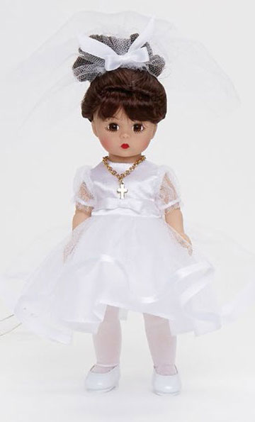 My First Communion Brunette, Medium Skin Tone 71461 by Madame Alexander