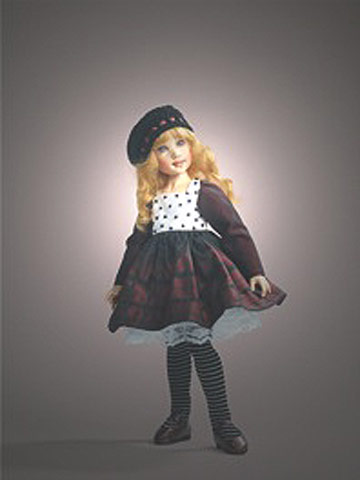 Zoe, Mulberry Plaid BJD