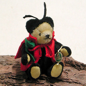 Little Lucky Charm Ladybird Teddy Bear 22151-5