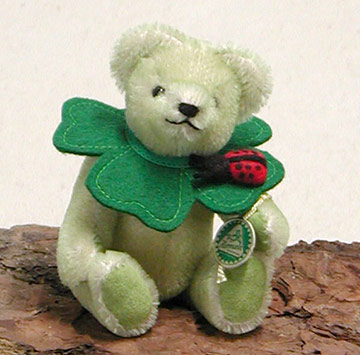 Little Lucky Charm Four Leaf Clover Teddy Bear 22153-9