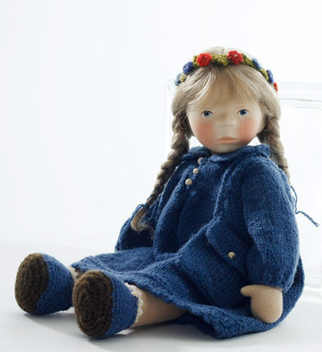 Girl In Blue Knit, Soft Body SO87