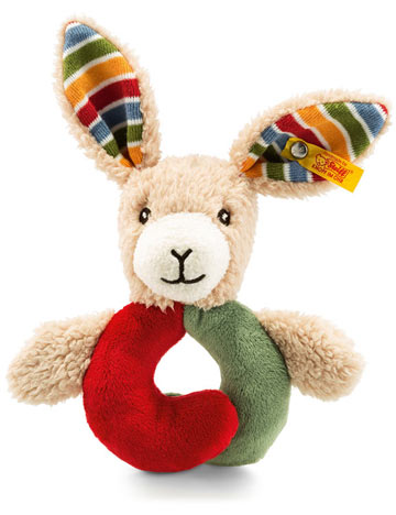 Carrie Rabbit Grip Toy Rattle EAN 240812