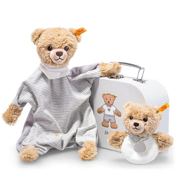 Sleep Well Bear Gift Set, Gray EAN 240980