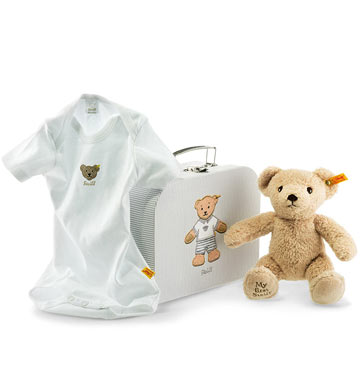 My First Steiff Teddy Bear Gift Set, Beige EAN 240560