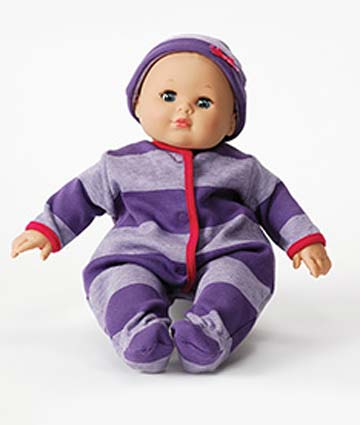 Little Sister Babblebaby Purple 72060