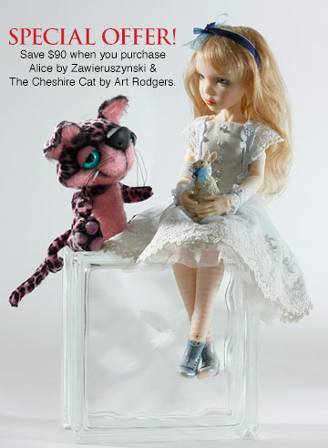 Alice BJD and Cheshire Cat Special Offer