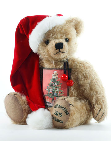2016 Hermann Christmas Bear 15214-7