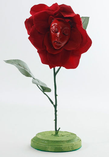 Regal Red Rose Talking Flower