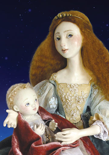 Mother And Child by Lucia Friedericy, Friedericy Dolls