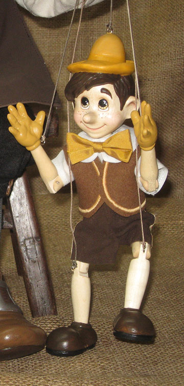 Pinocchio, The Little Marionette by Xenis