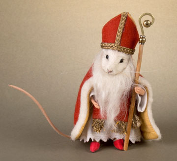 St. Nicholas Mouse by R. John Wright